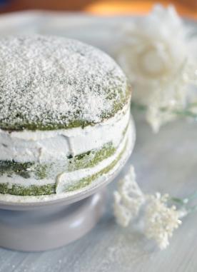 Nude Cake au Thé Matcha d'EchaloteandCo